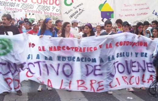 Video sobre la 5° Marcha de la Gorra