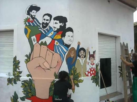 """Patria Grande: """"La Revolución viene oliendo a jazmines"""""""