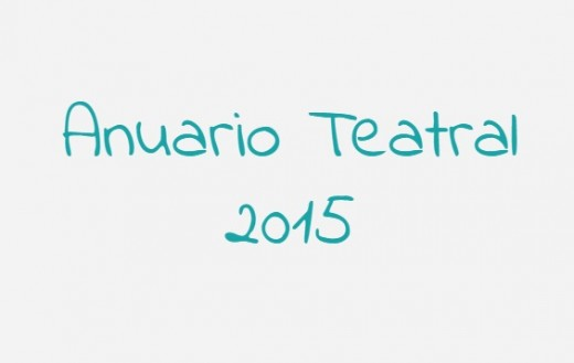 Anuario Teatral 2015