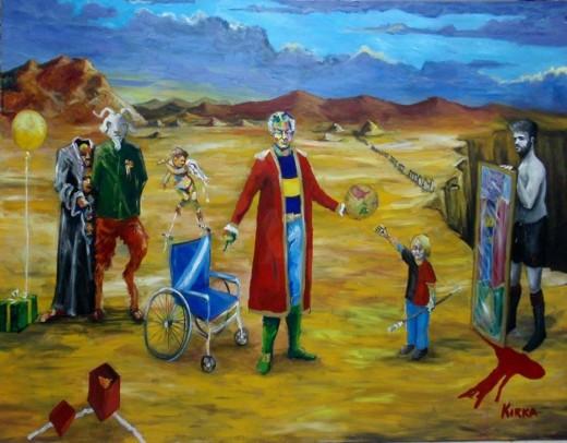 """Última semana para visitar """"Mitologías ciegas"""" de Kirka"""