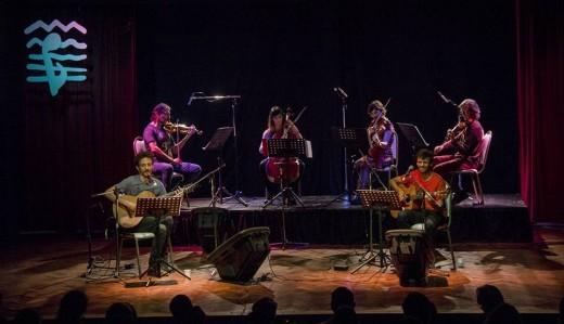 Lucas Heredia, Rodrigo Carazo y Magnolia colmaron el Salón de Actos