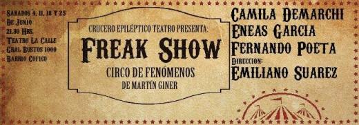 Freak show, Circo de fenómenos