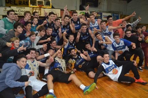 Bolívar campeón del Torneo de Basquet Local