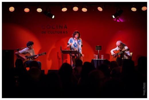 Mery Murúa y Horacio Burgos en vivo