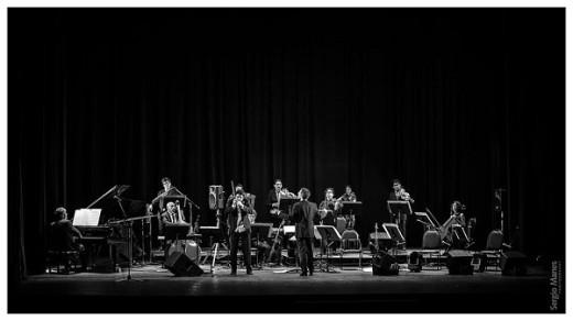 Orquesta Provincial de Música Ciudadana junto a Franco Luciani