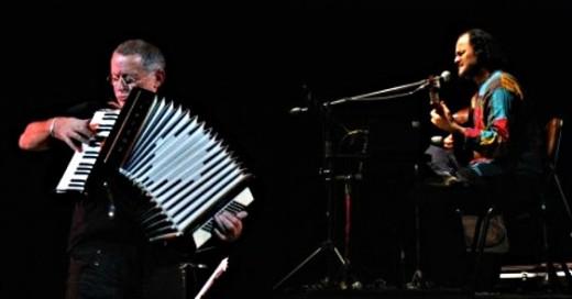 Hugo Fattoruso y Carlos Aguirre se presentaron en Córdoba