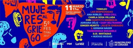 Quinto Festival Mujeres al Griego