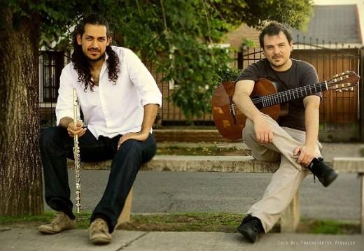 Carlos Mozetic y Alejandro Pittis en concierto