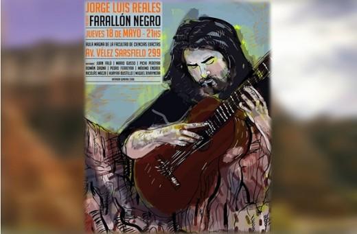 "Jorge Luis Reales presenta ""Farallón negro"""