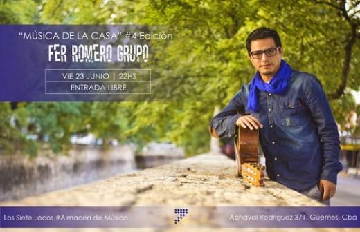"""Fer Romero en """"Música de la Casa"""""""