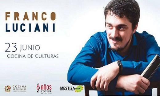 """Franco Luciani presenta """"Anda en el aire"""""""