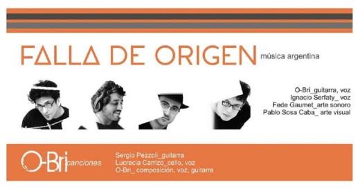 Falla de Origen en concierto