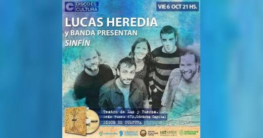 "Lucas Heredia presenta ""Sinfín"""
