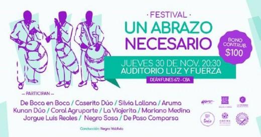 Festival Un abrazo necesario