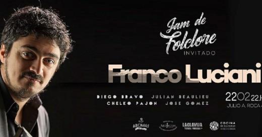 La Jam de Folclore invita a Franco Luciani