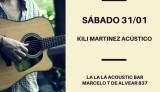 Kili Martínez presenta su primer EP en formato acústico