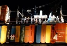 Acrobacia, luces y música: arrancó la cuenta regresiva en la UNC