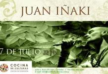 Juan Iñaki en Cocina de Culturas
