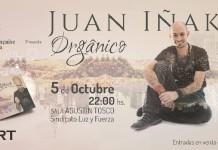 "Juan Iñaki presenta ""Orgánico"""