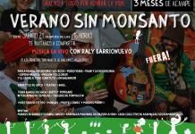 "Ya llega ""Verano sin Monsanto"""