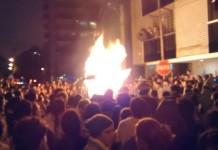 San Juan se prendió fuego