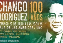 Homenaje al Chango Rodríguez