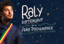 """Raly Barrionuevo presenta """"Chango"""" en la Peña Trashumante"""
