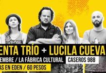 Lucila Cueva y Presenta Trío juntos en vivo