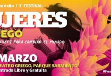 Tercer Festival Mujeres al Griego