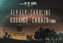 Fly Fly Caroline y Rodrigo Carazo en vivo