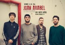 Juan Arabel este viernes en Los Siete Locos
