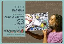 Magnolia junto a Chacho Marzetti en El Vecindario