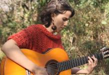 Clara Cantore en concierto