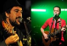 Marcos Luc y Daniel Drexler en concierto