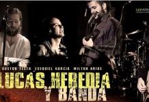 Lucas Heredia y su banda en vivo