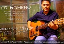 Fer Romero en concierto