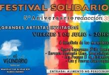 Celebramos nuestro Quinto Aniversario con un Festival Solidario