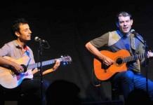 Lucas Heredia y Seba Ibarra en concierto