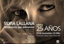 Silvia Lallana celebra 25 años con la música