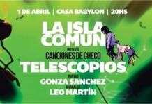 """La Isla Común presenta """"Canciones de Checo"""""""