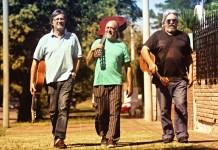 Ariel Borda, Sergio Korn y Horacio Sosa en concierto