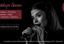 Guadalupe Gómez en vivo