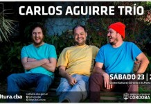 """Carlos """"Negro"""" Aguirre en Córdoba"""