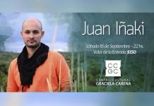 Juan Iñaki en concierto