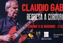 Claudio Gabis regresa a Córdoba