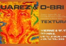 """Juampy Juárez y O-Bri presentan """"Texturas"""""""