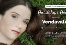 """Guadalupe Gómez presenta """"Vendavales"""""""