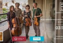 """Magnolia presenta """"Música Argentina para Cuarteto de Cuerdas"""""""