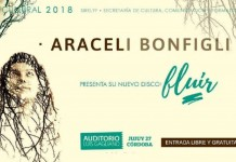 "Araceli Bonfigli presenta ""Fluir"""