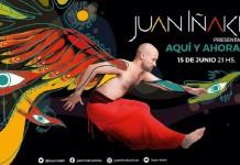 """Juan Iñaki presenta """"Aquí y Ahora"""""""